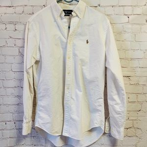 Ralph Lauren Classic Fit Collared Button Down